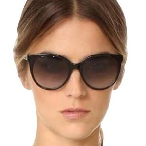 Kate spade cat eye amayas sunglasses black
